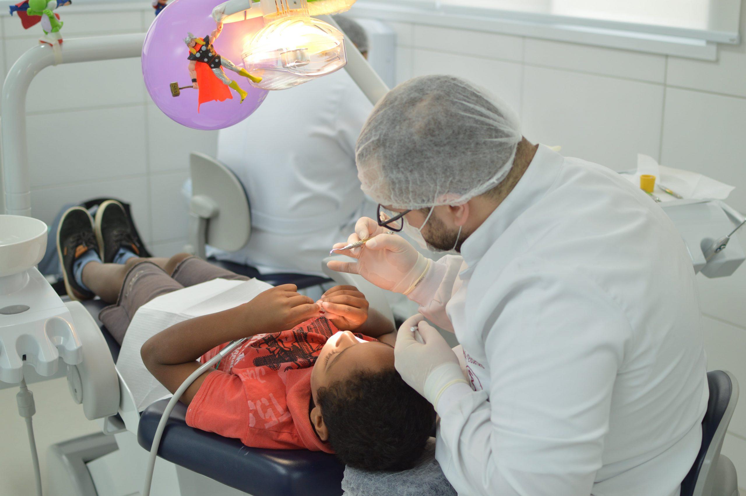Clinica odontológica - Atendimento ao público infantil
