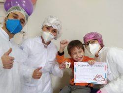 Alunos da Odontologia atendem crianças do Instituto de Menores